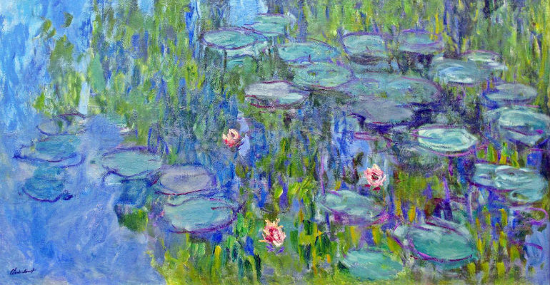 Claude Monet Le ninfee