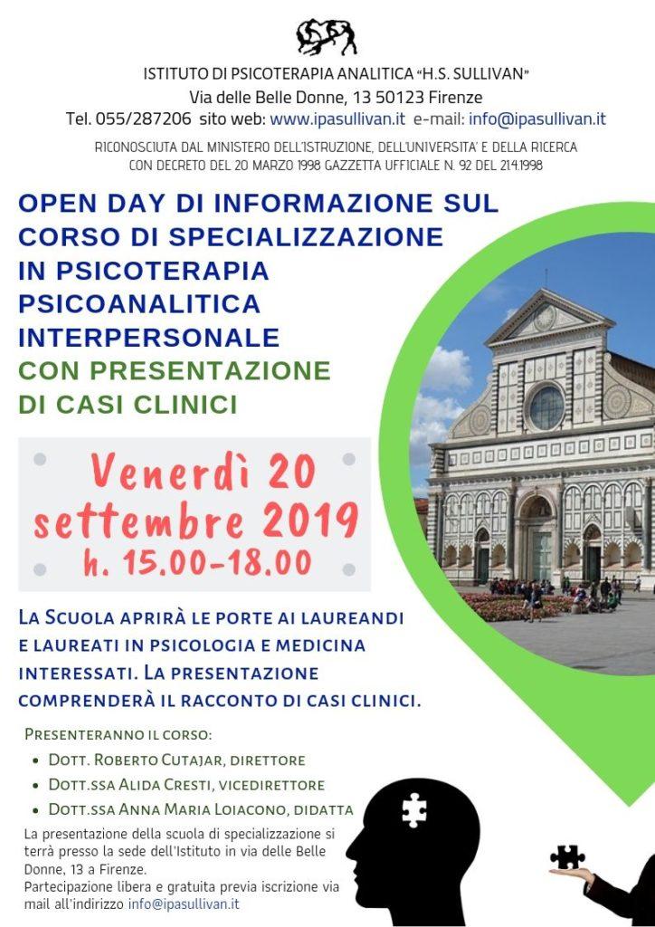 Locandina open day 20-09